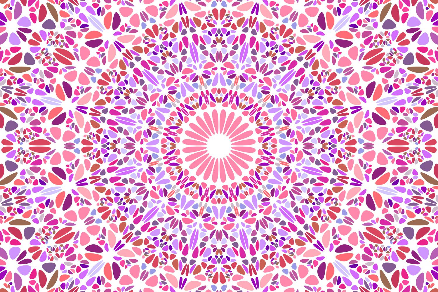 48 Floral Mandala Backgrounds example image 13