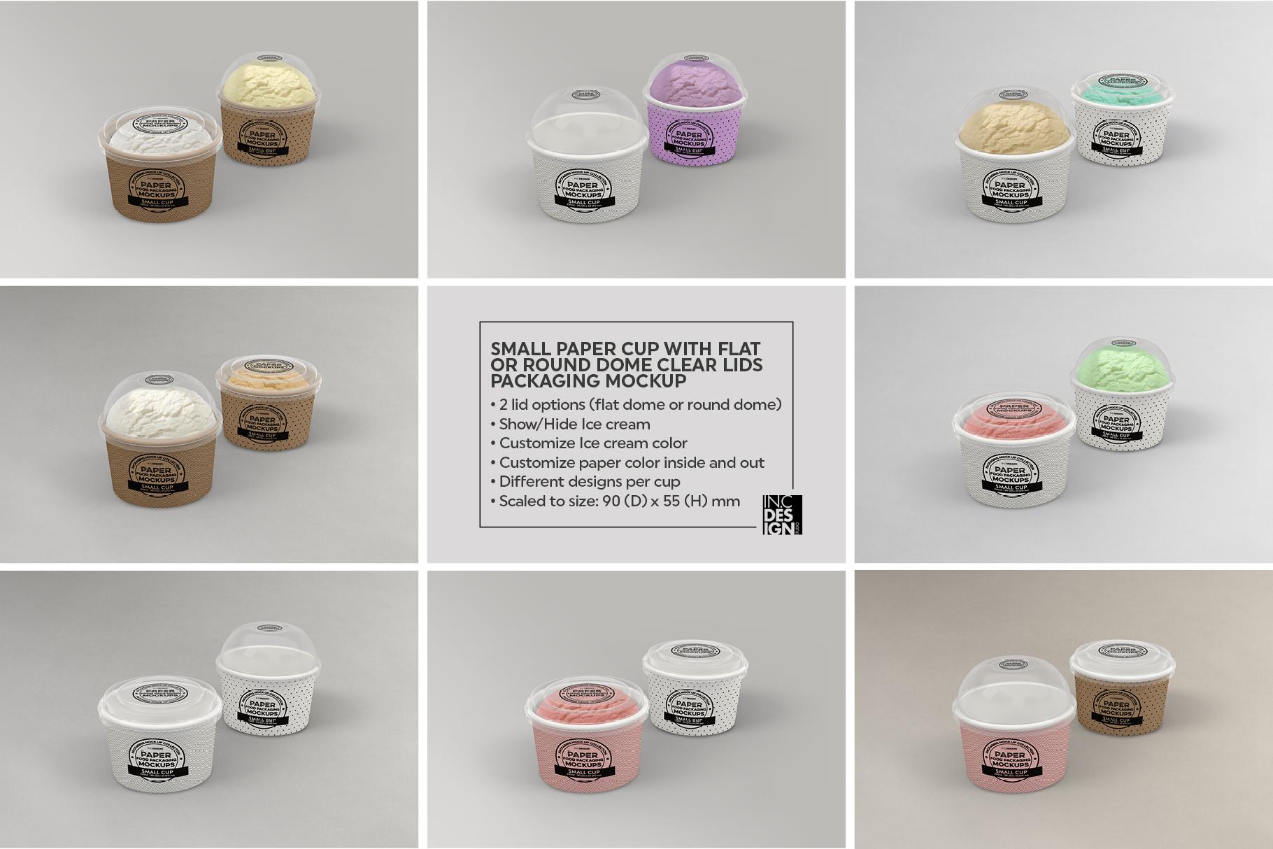 VOL.12 Food Box Packaging MockUps example image 9