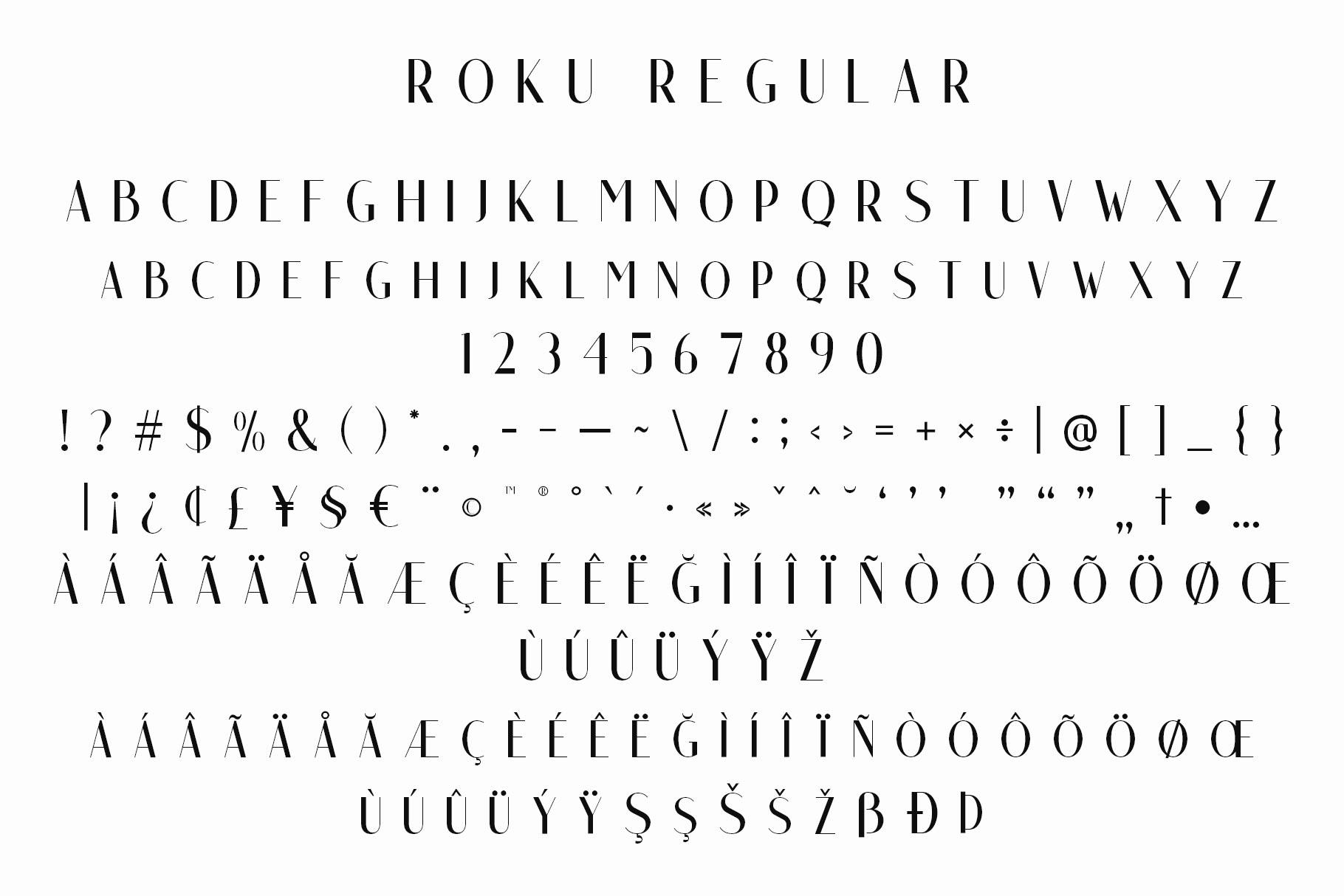 Roku - Modern Sans Serif example image 4