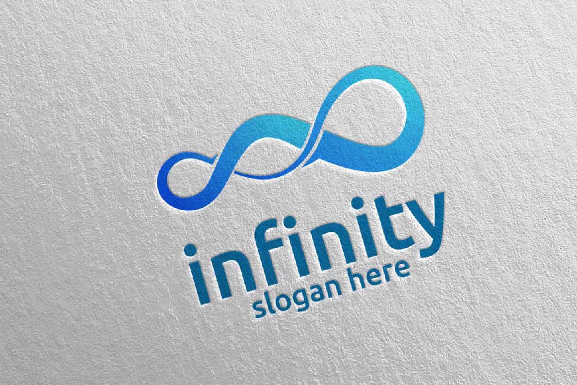 Infinity loop logo Design 34 example image 5