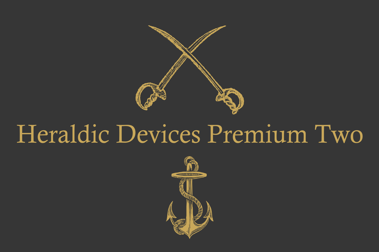 Heraldic Devices Premium (pack)  example image 3