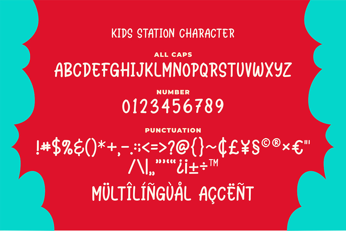 Station Kids - Cute Typeface example image 3