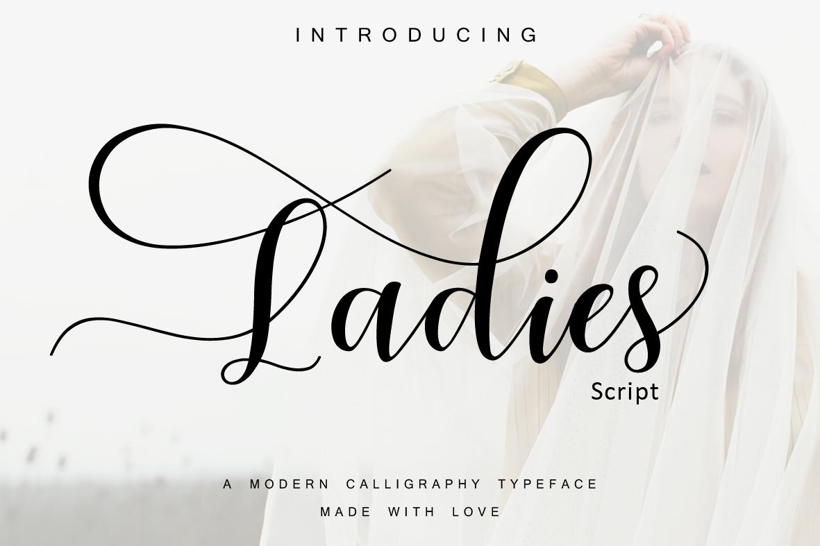 Ladies  script example image 1