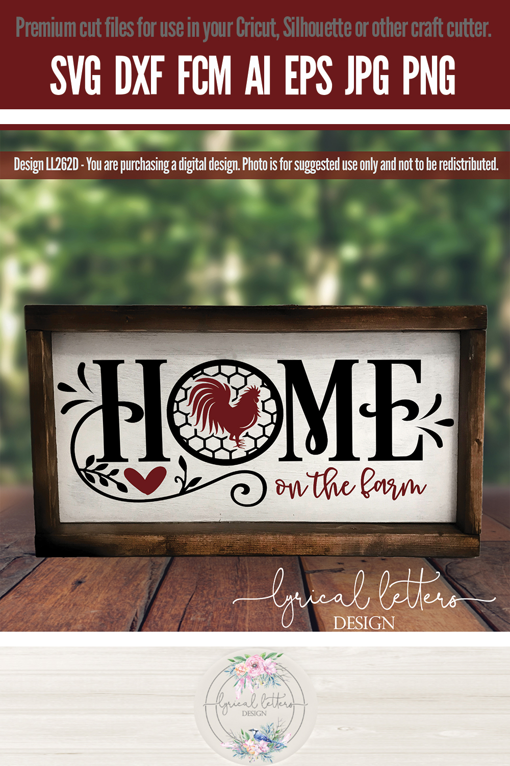 NEW! Home Bundle of 6 SVG Cut Files LL262 example image 12