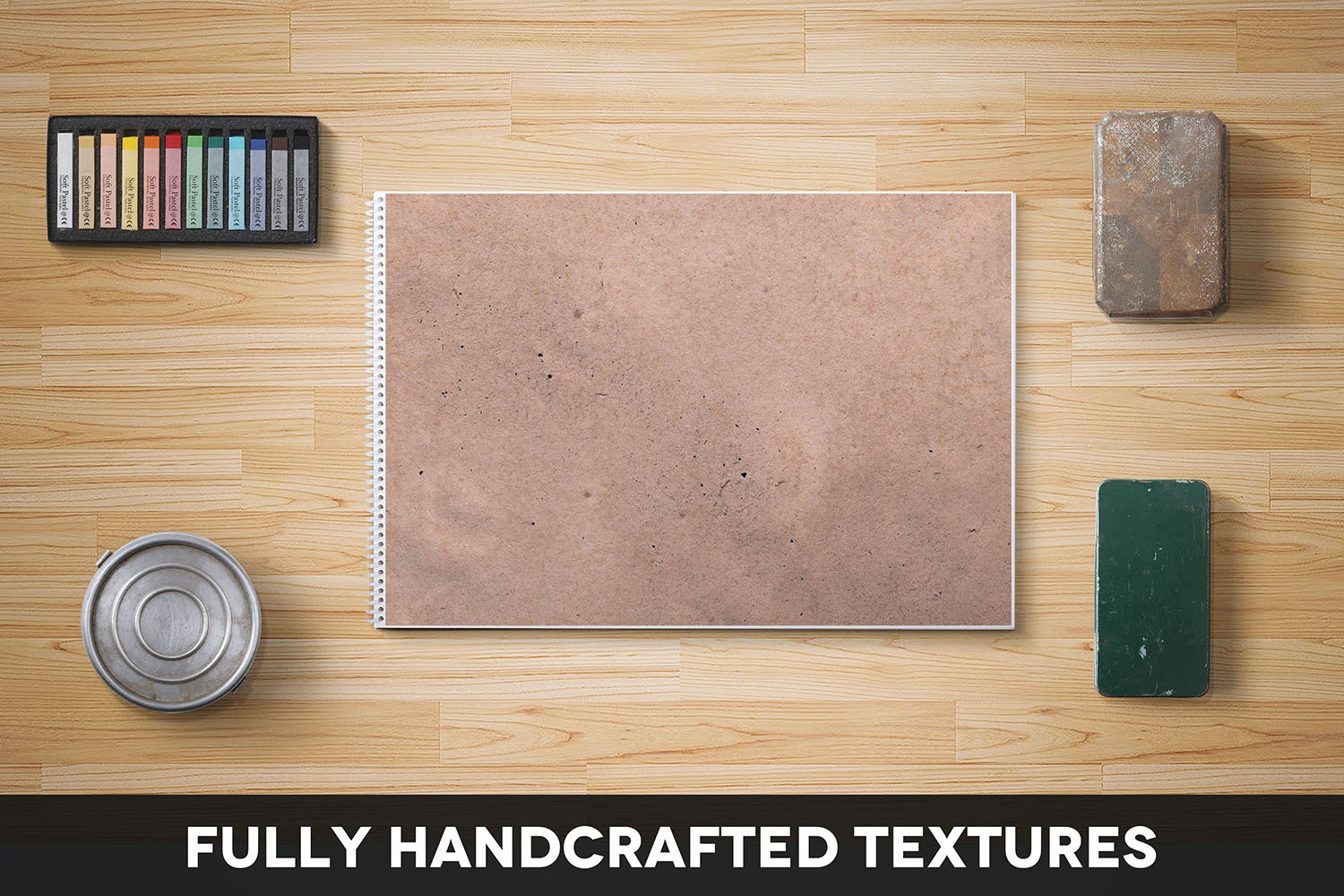 Handcrafted Vintage Paper Textures Vol. 05 example image 2