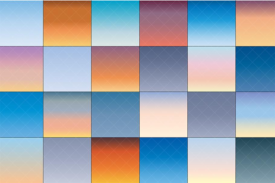 Textured Gradient Skies example image 4