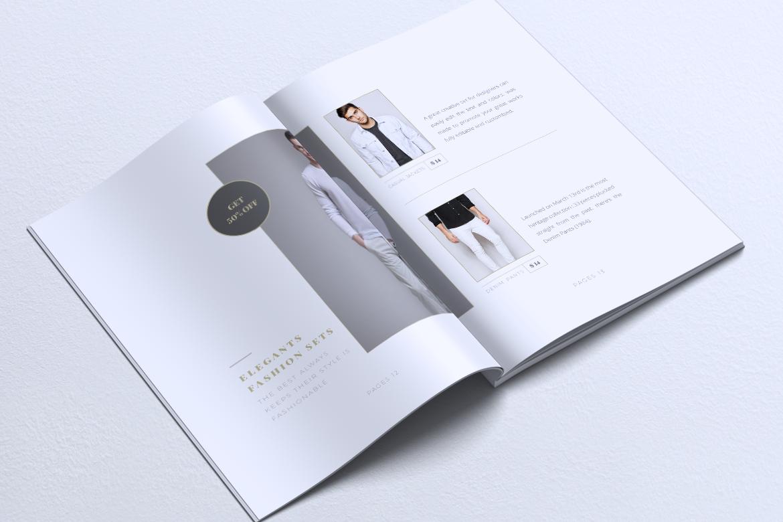 MEDUSA Minimal Lookbook Magazines example image 9