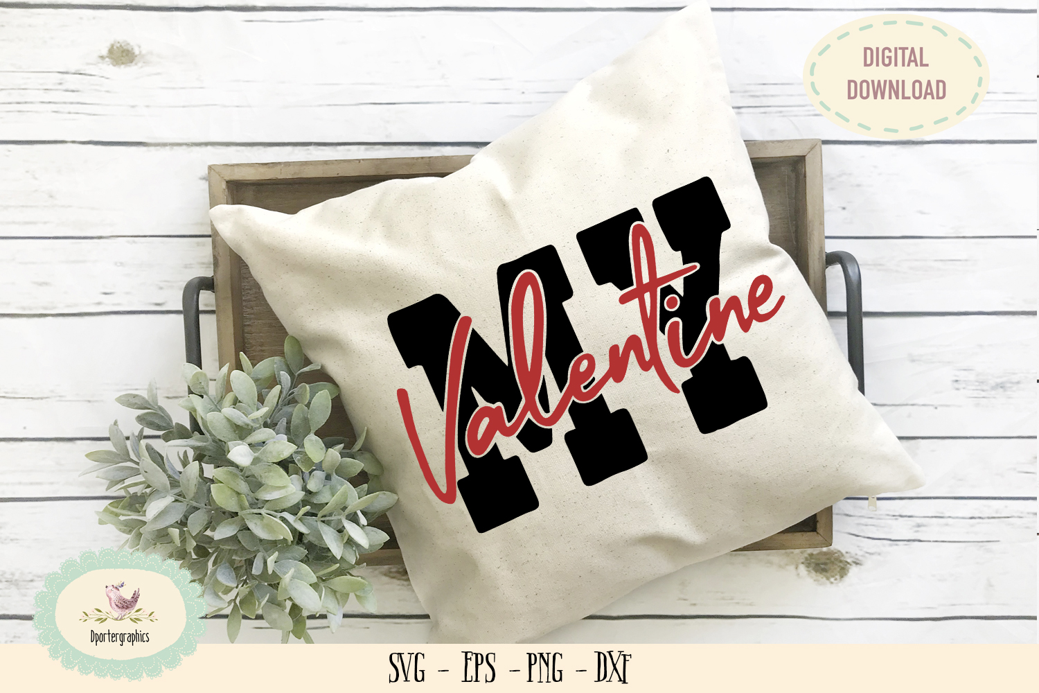 My valentine hand lettering SVG PNG example image 1