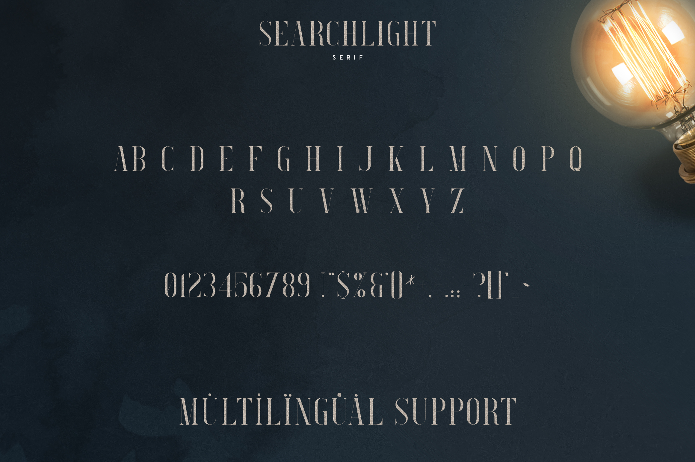 Searchlight - font trio example image 9