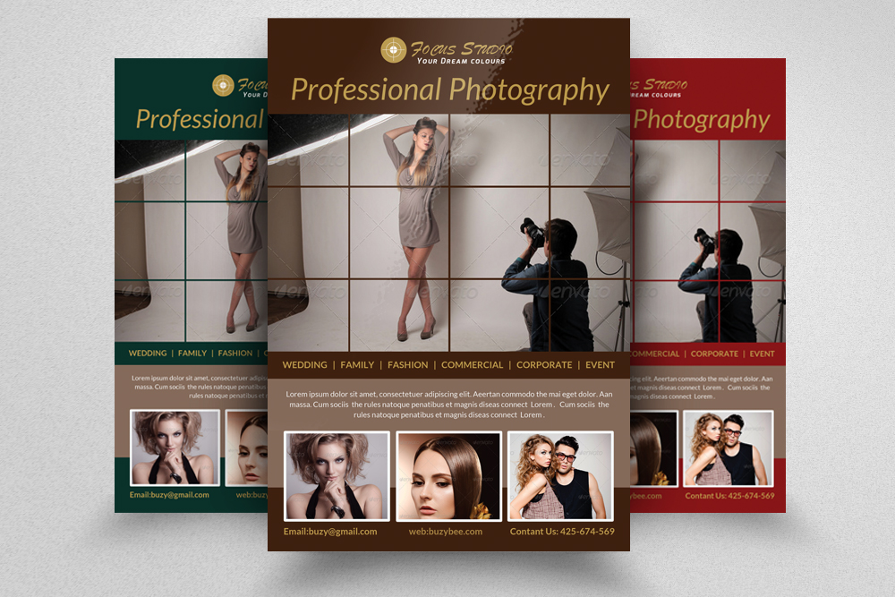 6 Photography Business Flyers Bundle example image 7