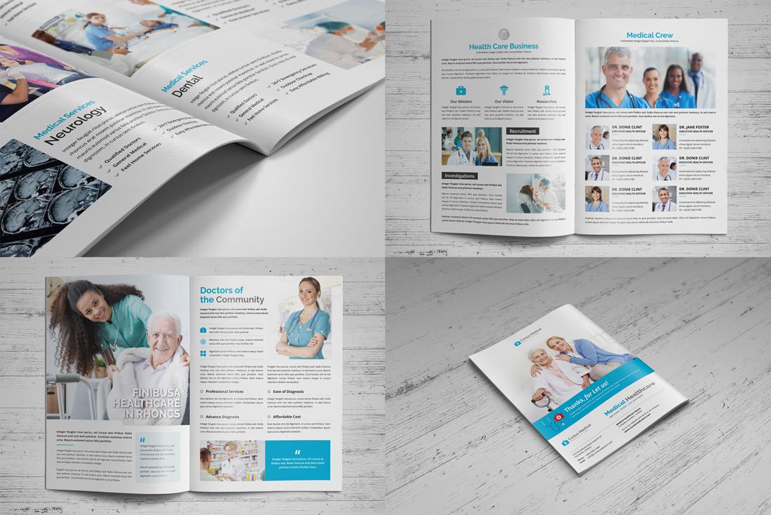 Medical HealthCare Brochure Bundle example image 5