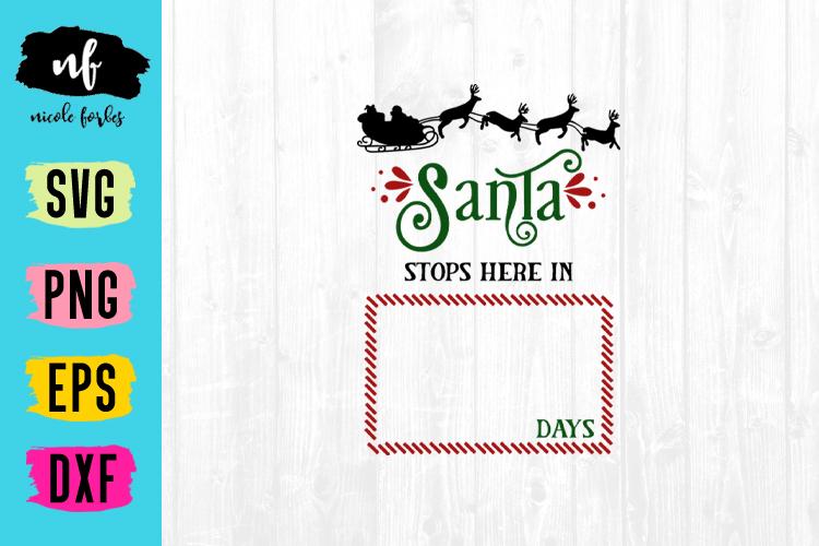 Christmas Countdown SVG Bundle example image 3