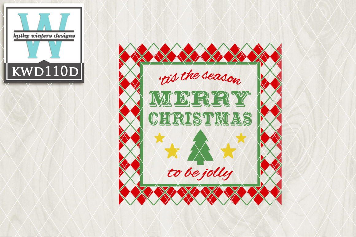 Christmas Cutting File KWD110D example image 1