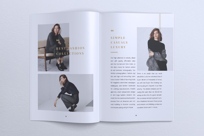 NEBULA Minimal Lookbook Magazine Styles example image 10