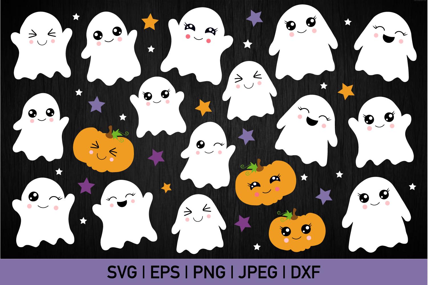 Little Boo Svg Bundle example image 1