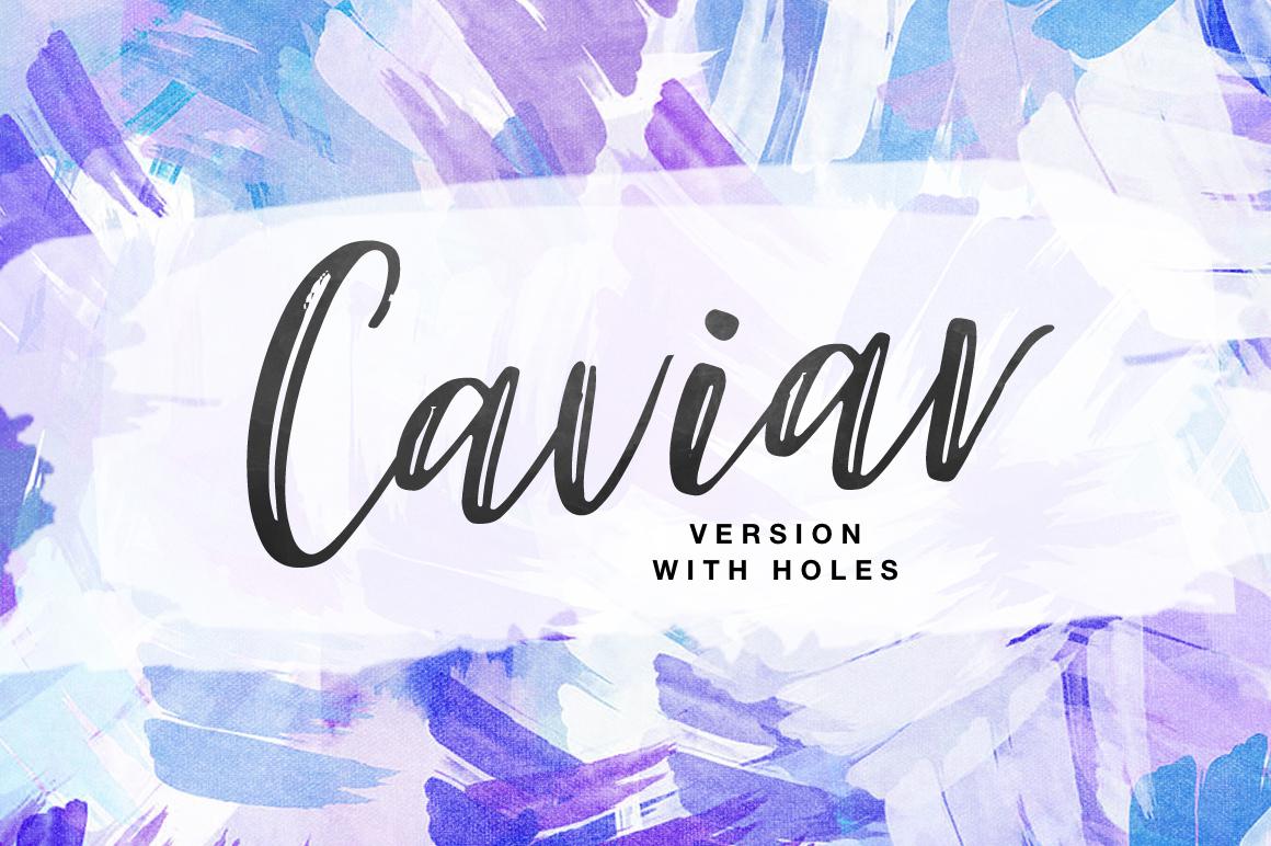 Caviar DUO example image 6