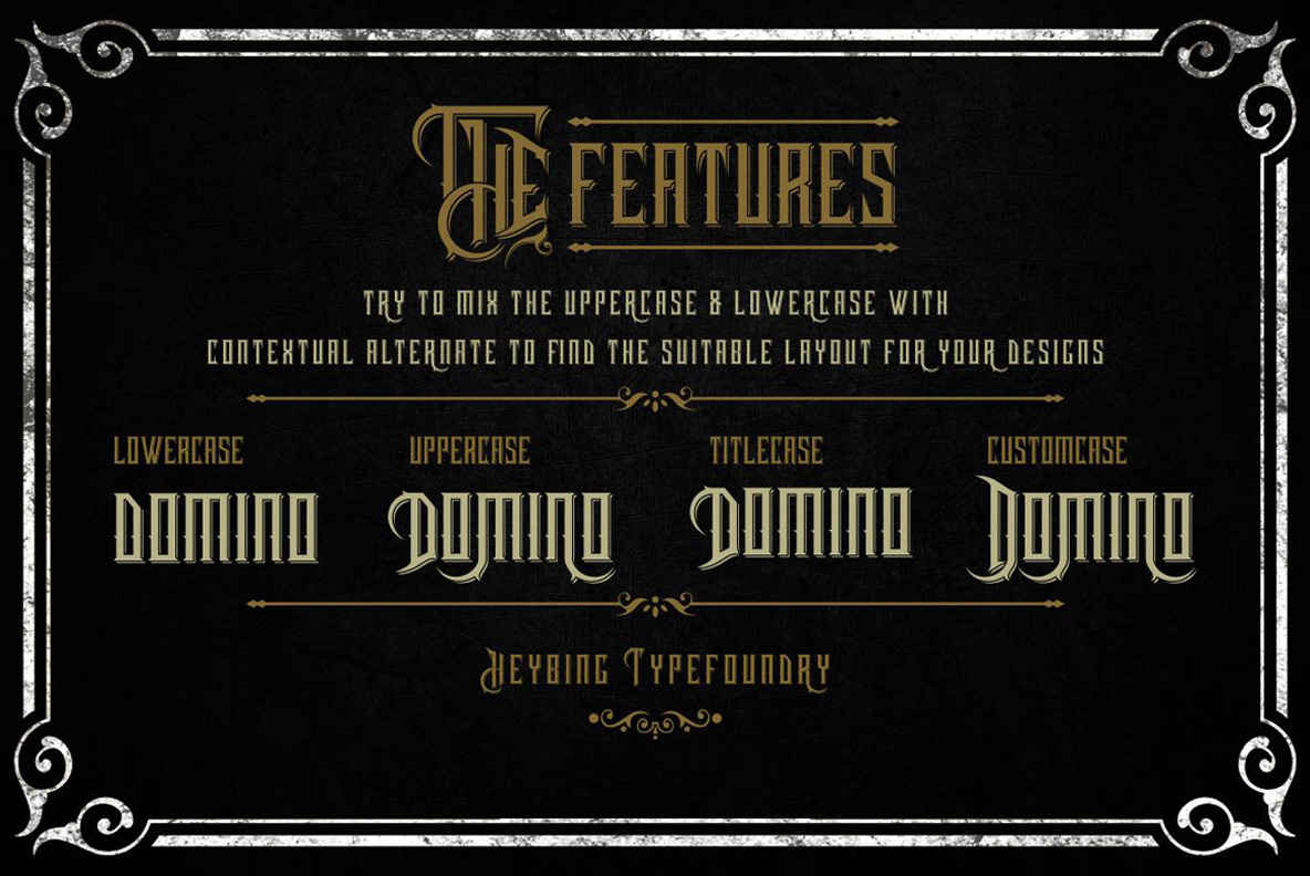 Harsh Typeface + Bonus example image 4