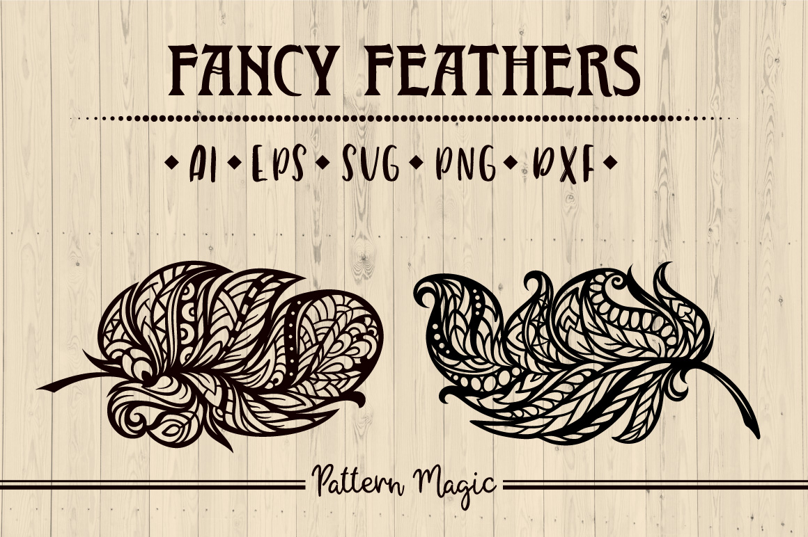 Fancy feathers example image 1
