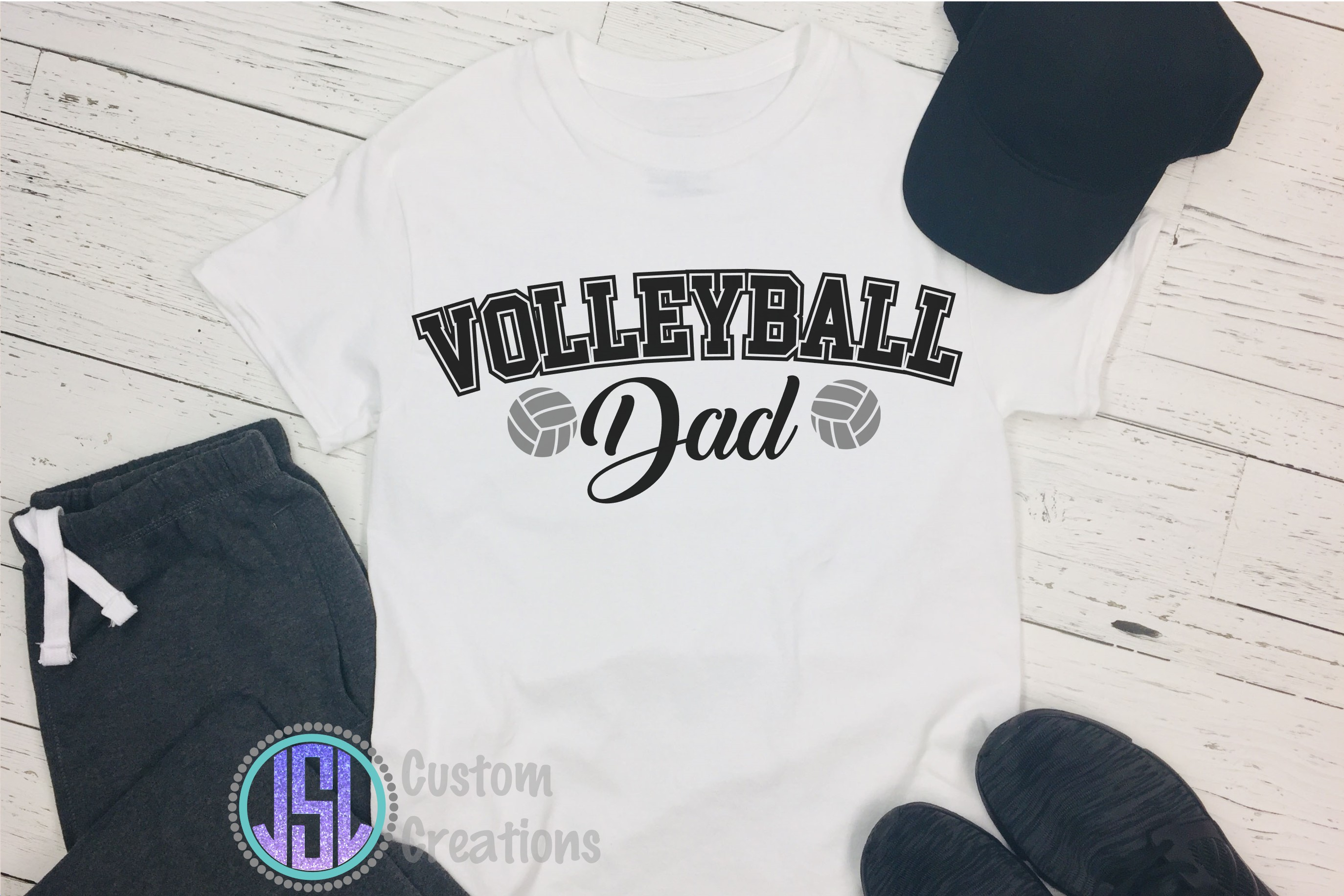 Volleyball Bundle Vol 1 |Set of 10 | SVG DXF EPS PNG example image 9