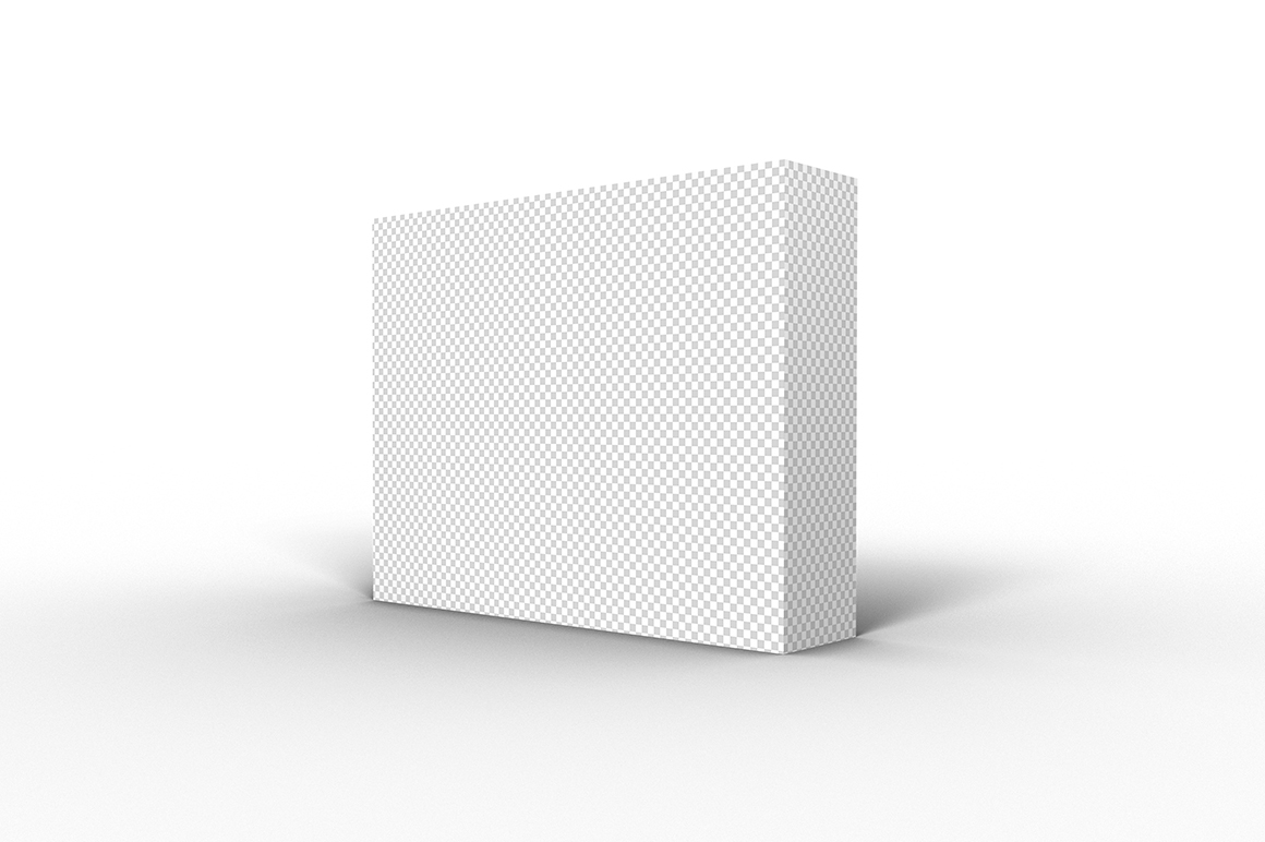 9.7.2 Simple 3D Box Mockup PSD example image 2