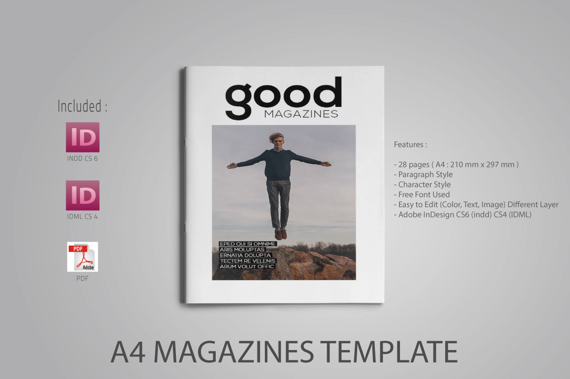 A4 Good Magazines example image 1
