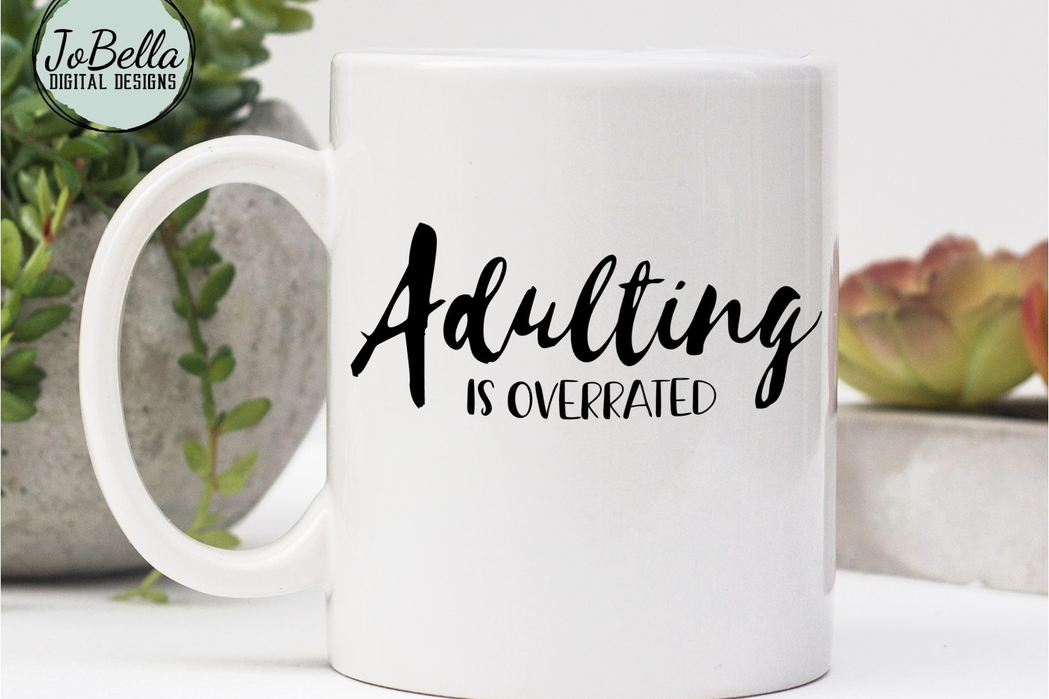 Sarcastic SVG and Printable - Adulting Is Overrated example image 3
