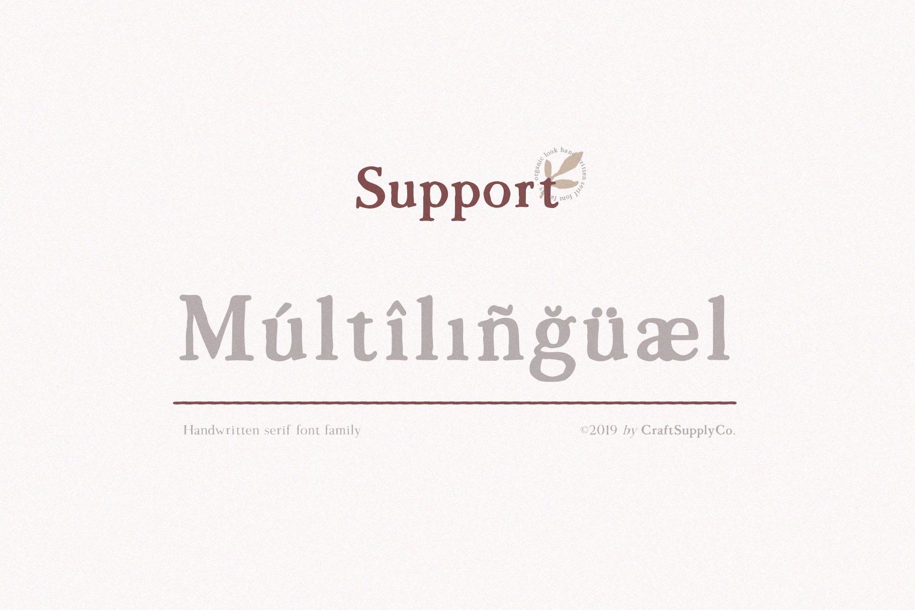 Morgen - Handwritten Serif Font example image 7