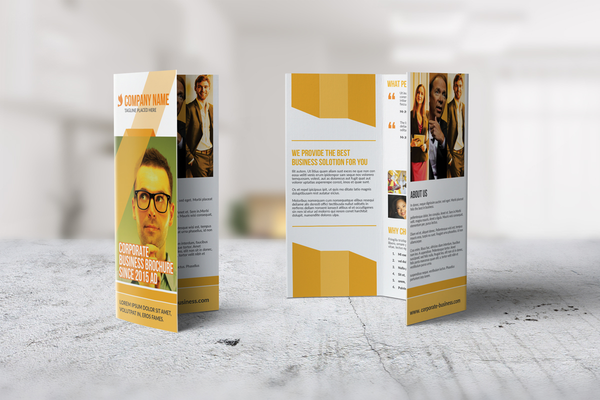 Trifold Corporate Brochure example image 3