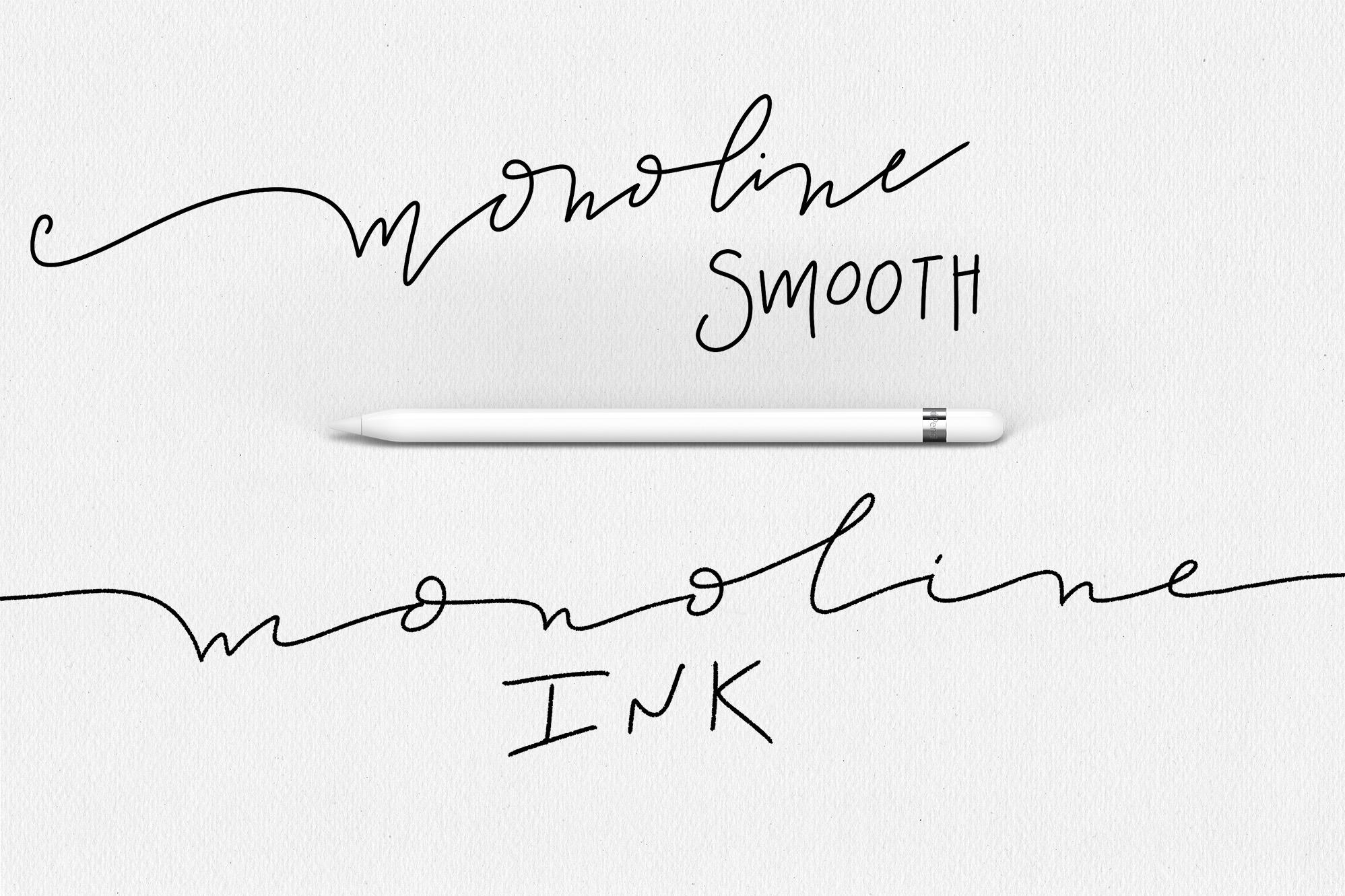 Procreate Lettering Brushes + Bonus example image 5