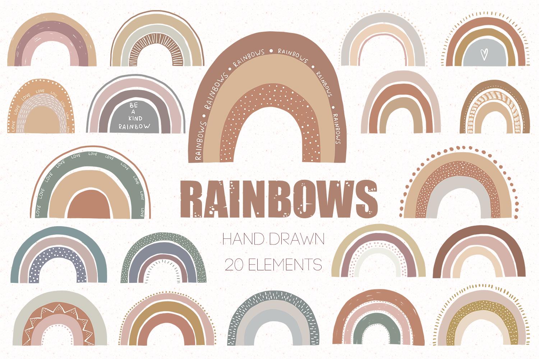 Rainbows set example image 1