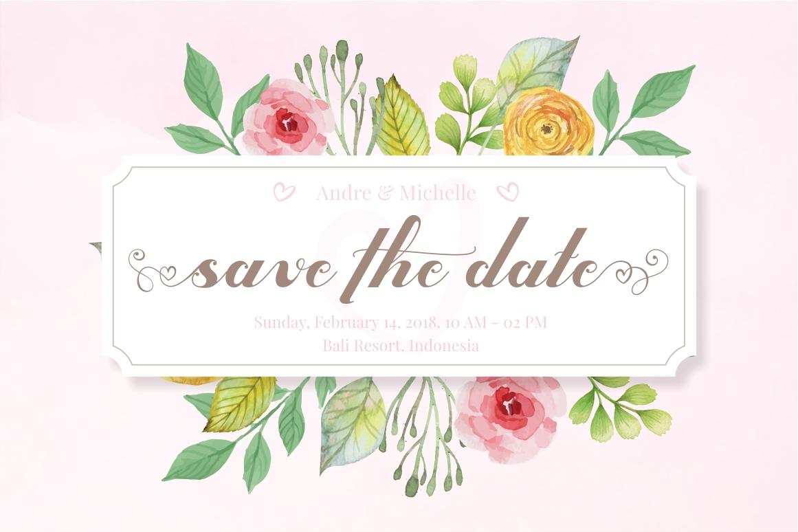 Valentijn - Romantic Font example image 4