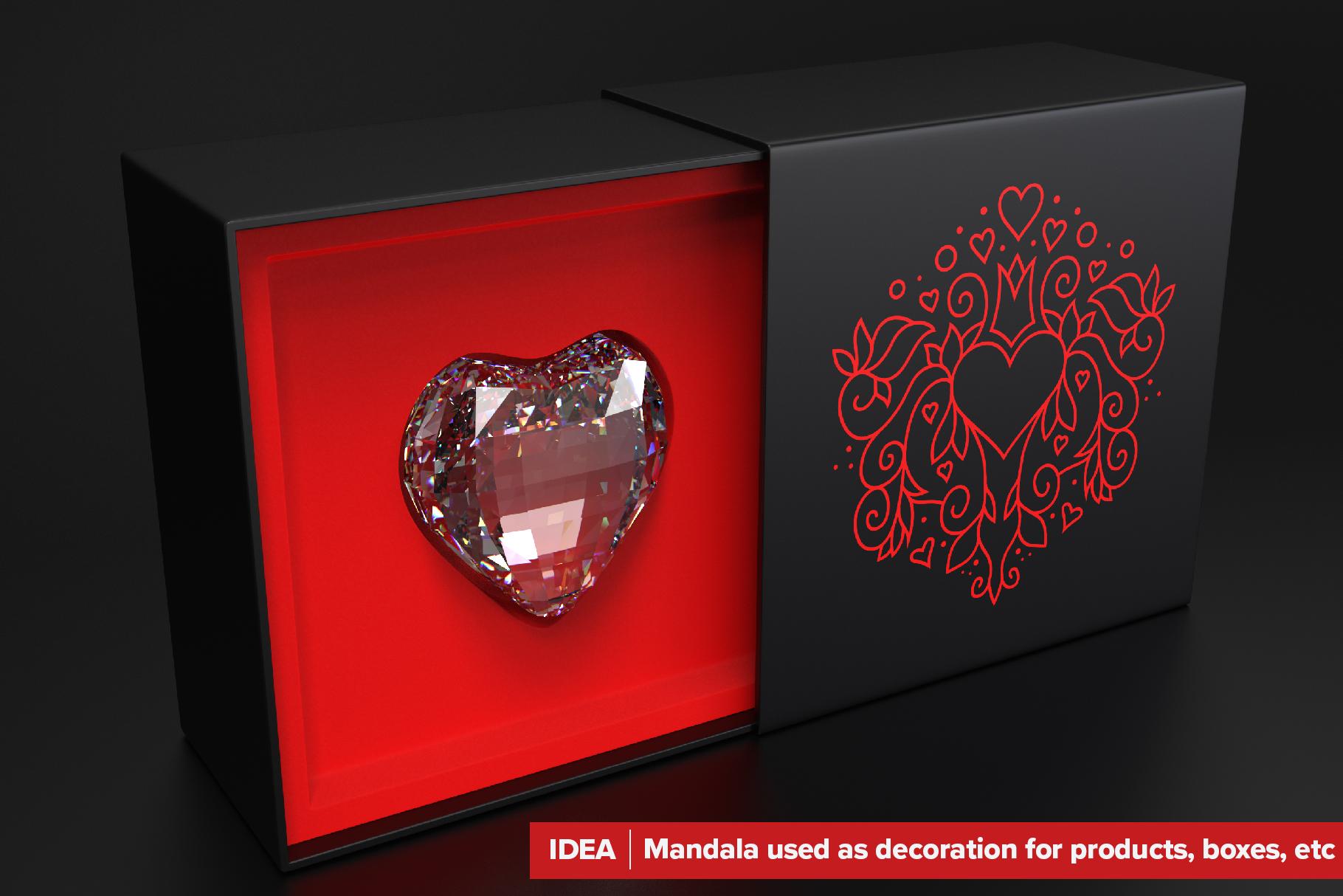 300 Vector Mandala Ornaments example image 7