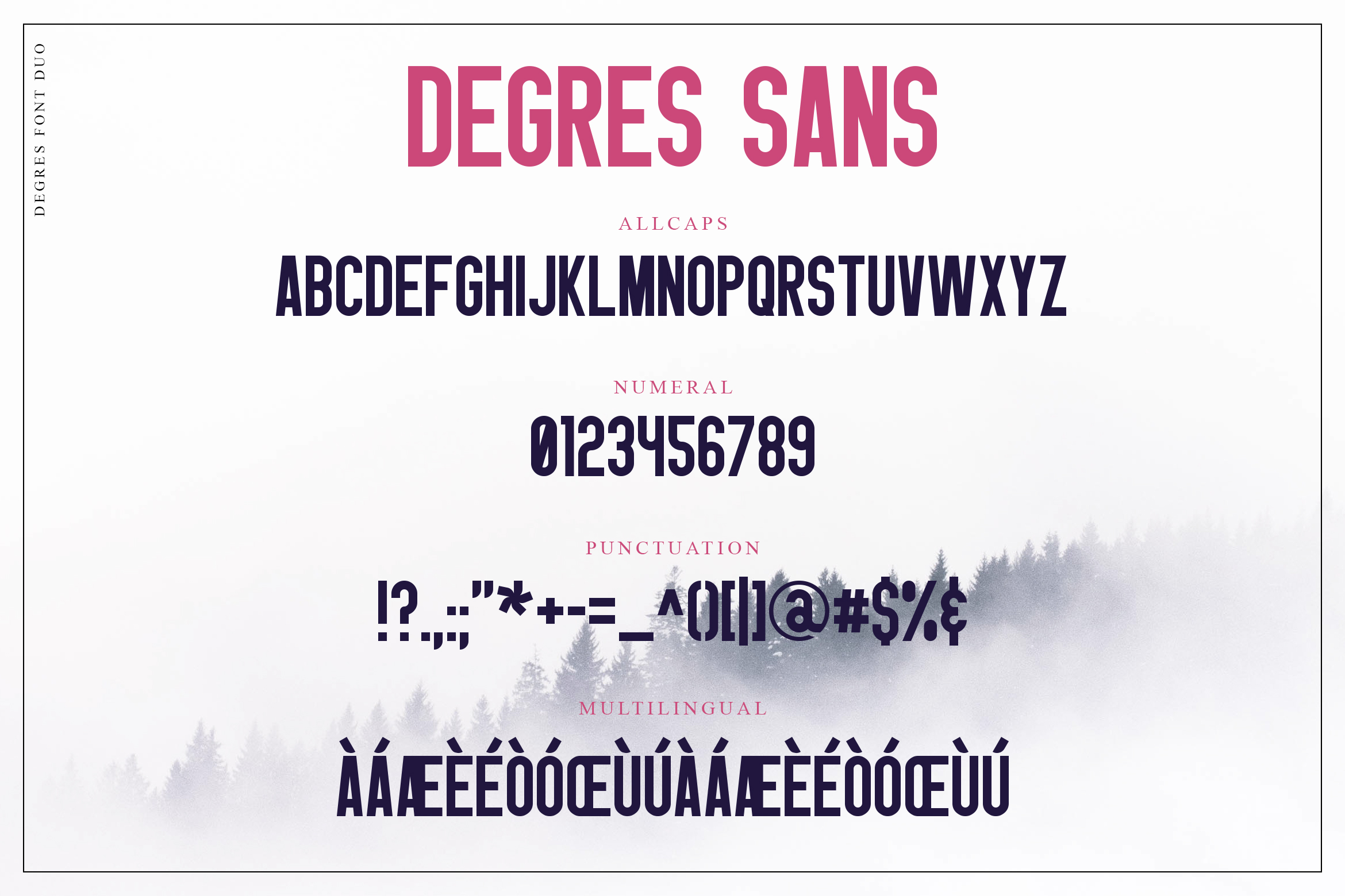 Degres Font Duo example image 9