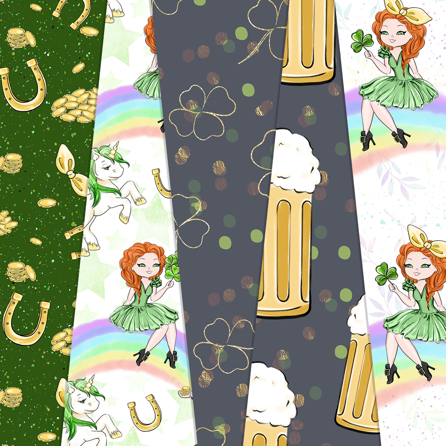 Its Your Lucky Day - Digital Pattern example image 3