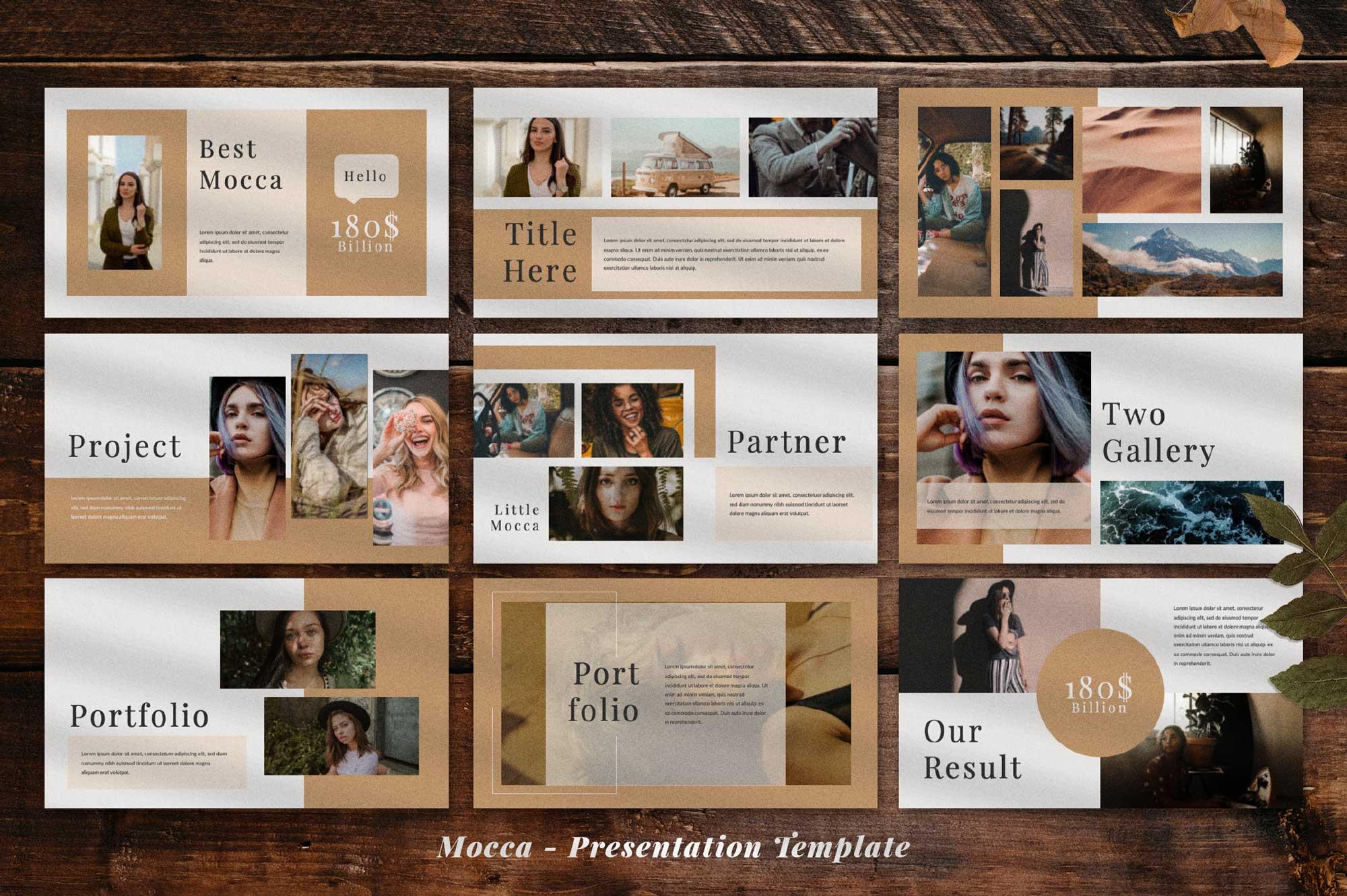 Mocca Presentation example image 3