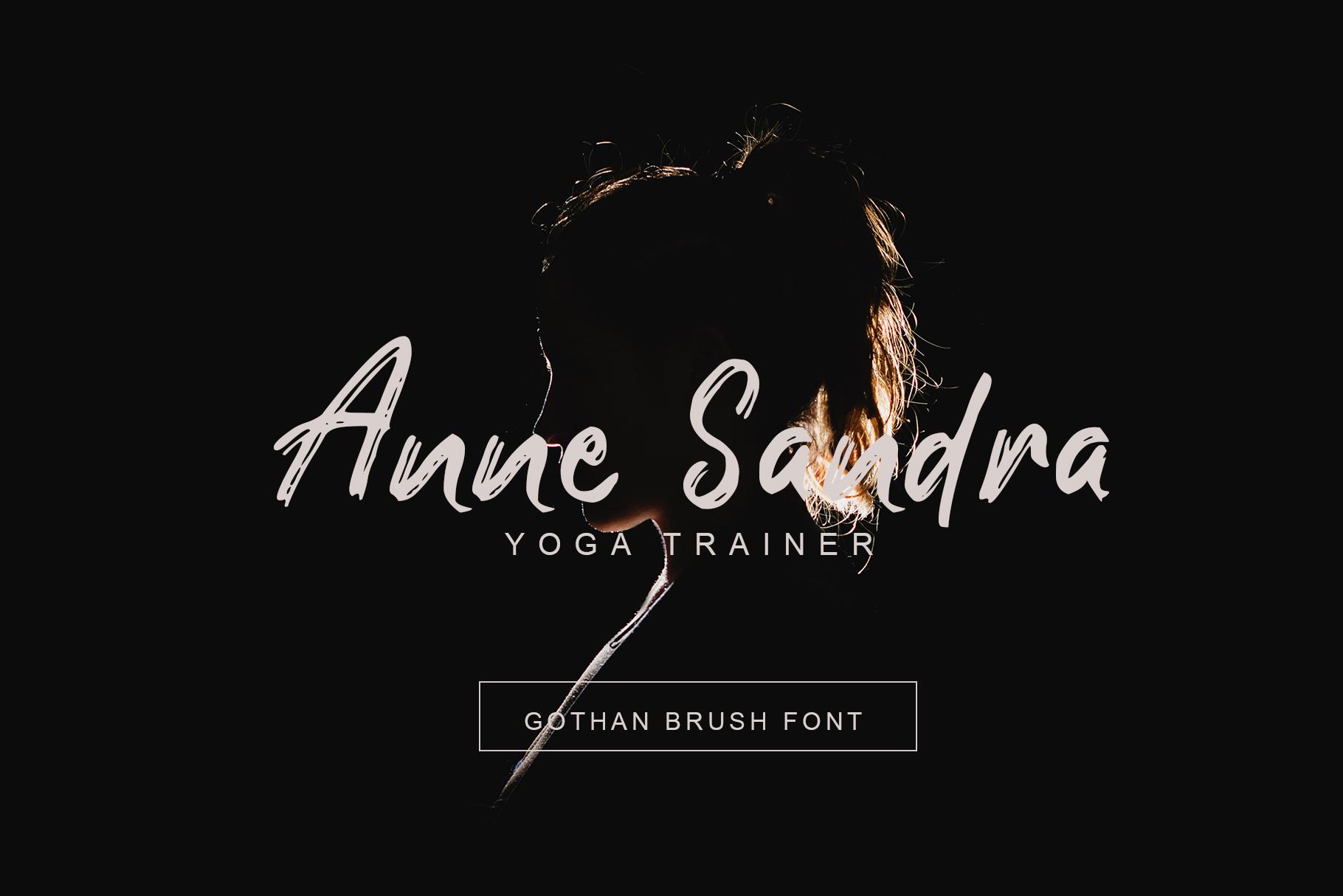Southen Brush Font example image 6