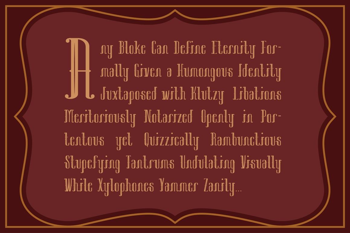 Sambeltigo Typeface example image 3