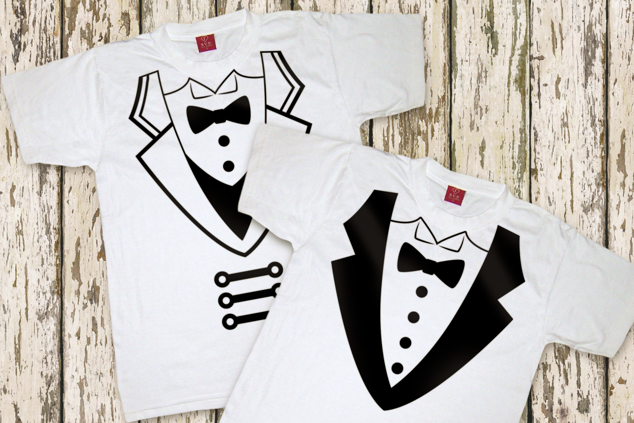 Circus Ringmaster Coat and Tuxedo SVG File Cutting Template example image 3