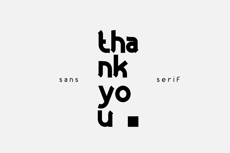 Gonem l Sans Serif Family example image 8