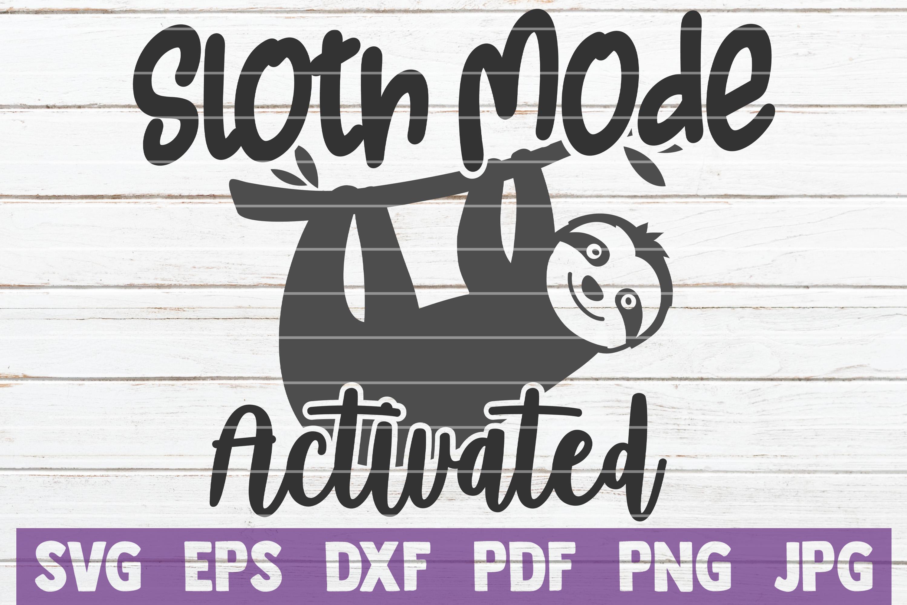 Sloth SVG Bundle | SVG Cut file | commercial use example image 7