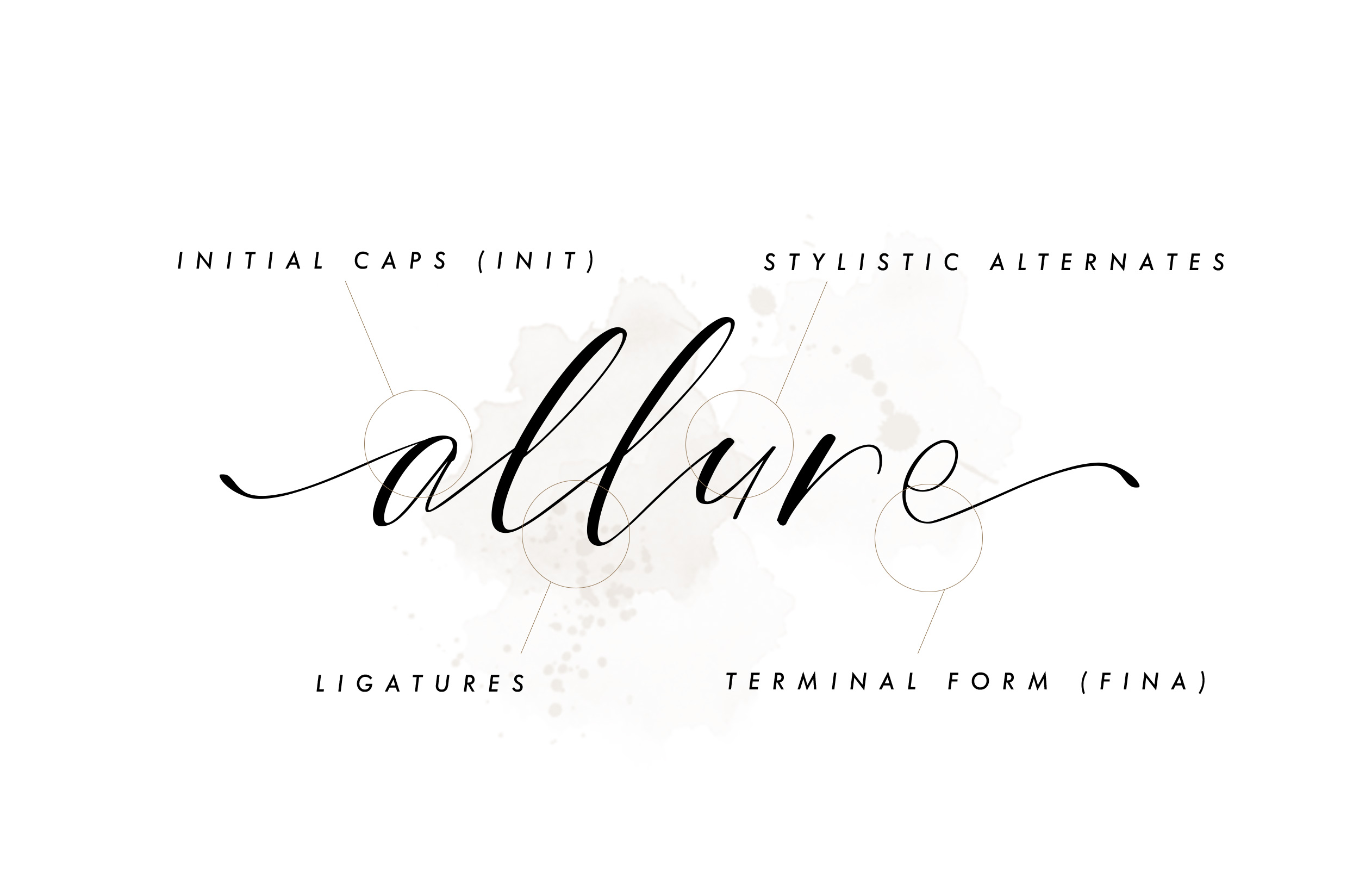 Bride Style - Modern Calligraphy example image 7