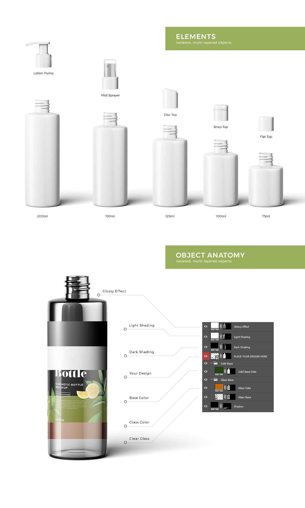 Cosmetic Bottles Mockup Vol.2 example image 3