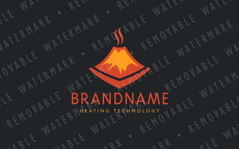 Smoldering Volcano Logo example image 3