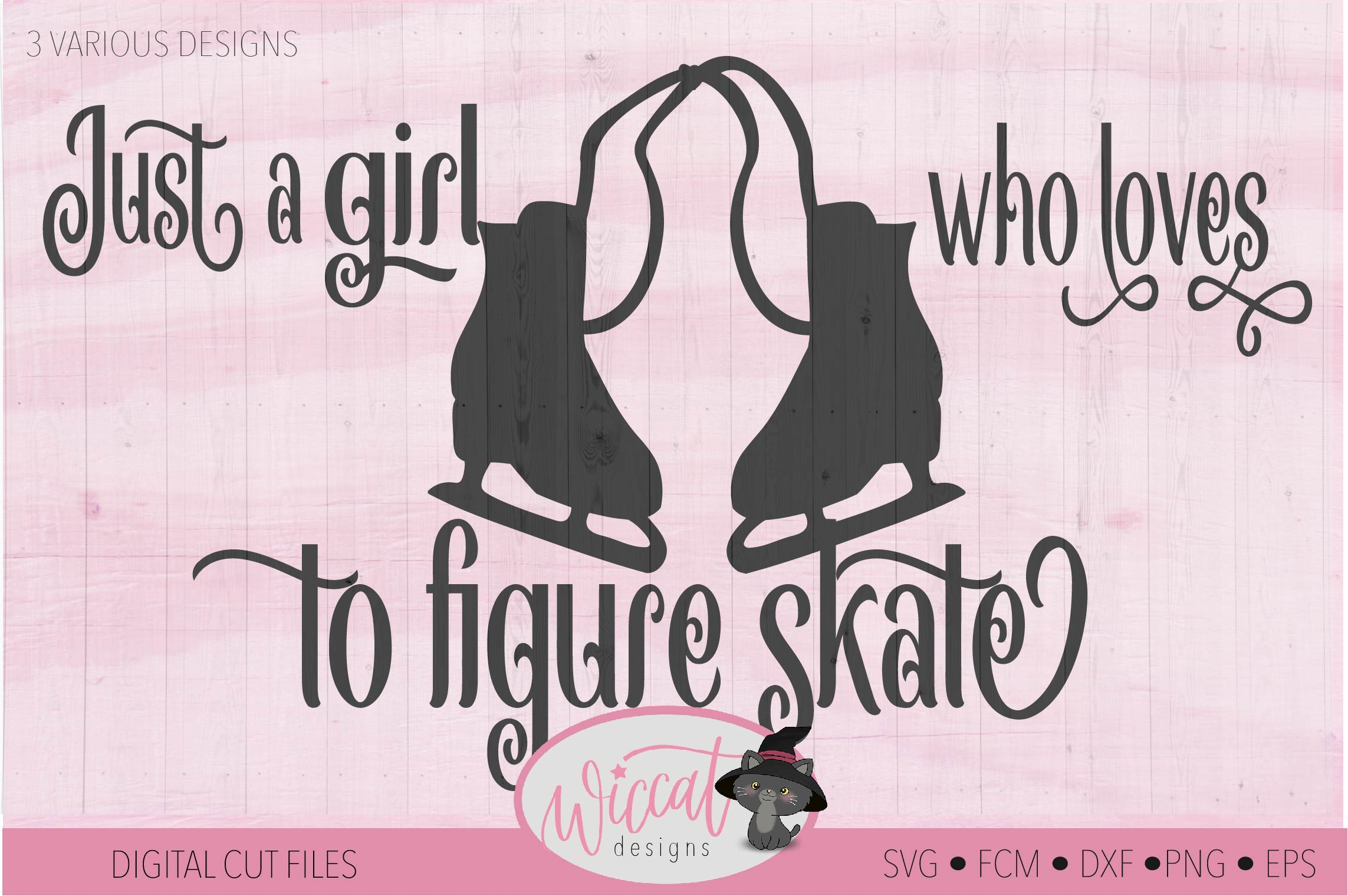 Girl loves Ice skating, Figure skates, winter sports example image 2