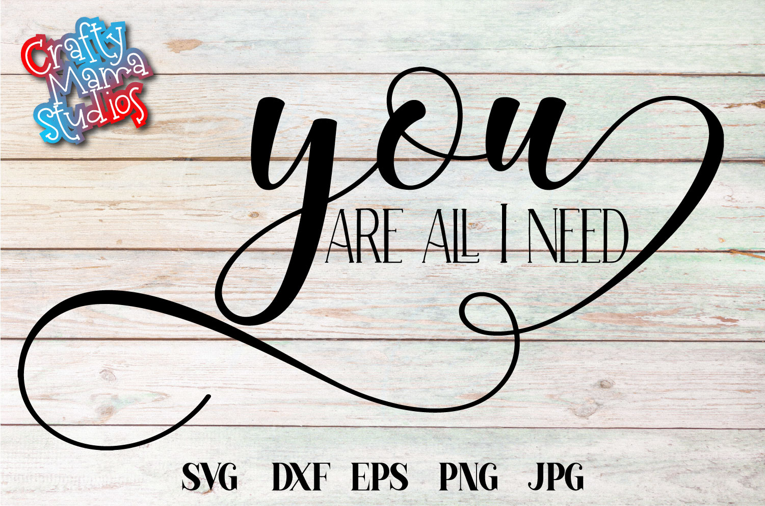 You Are All I Need SVG, Wedding, Love, Sublimation example image 2