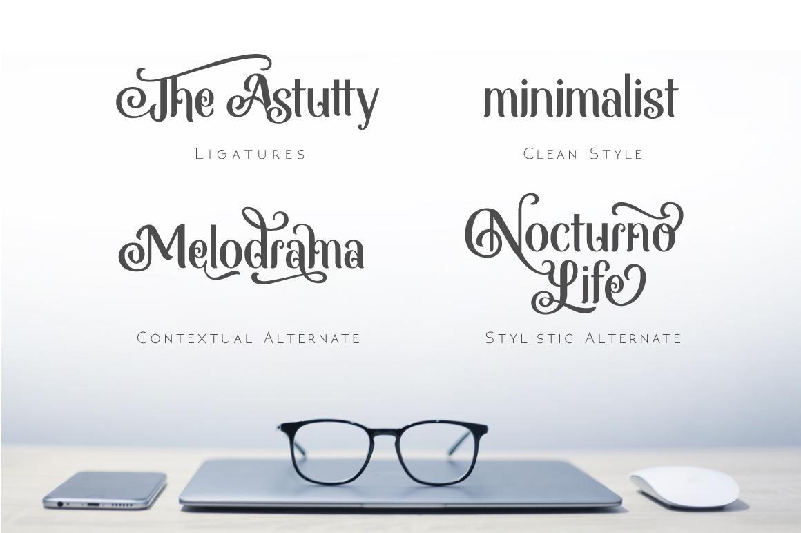 Monabelia Typeface example image 5