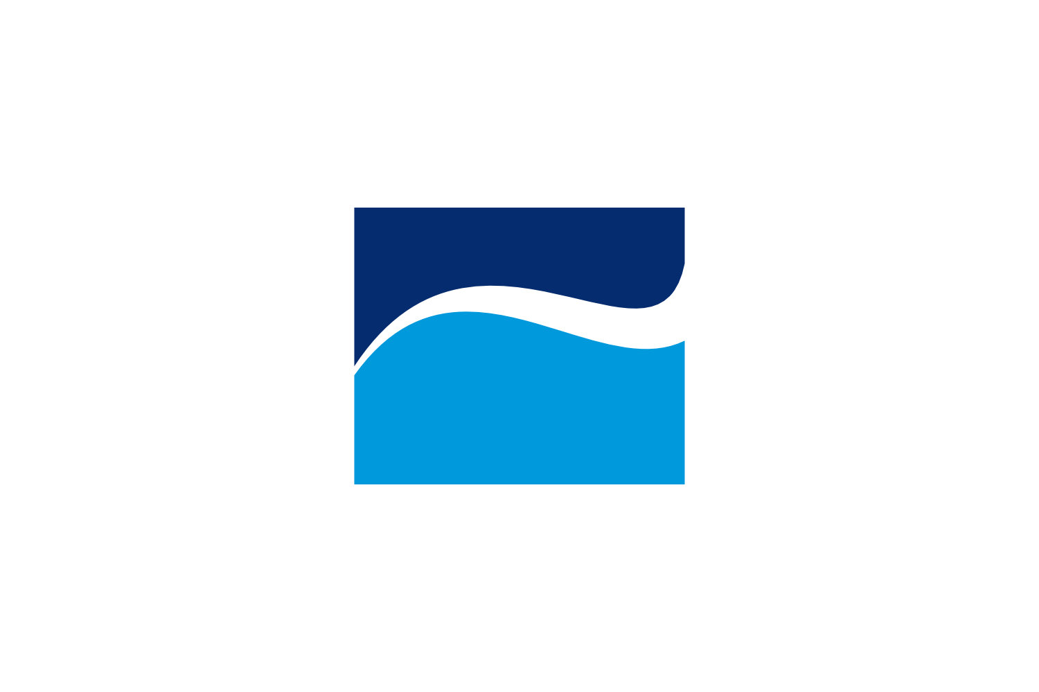 wave square logo example image 1