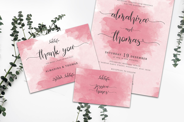 Wedding Invitation Suite vol. 01 example image 5