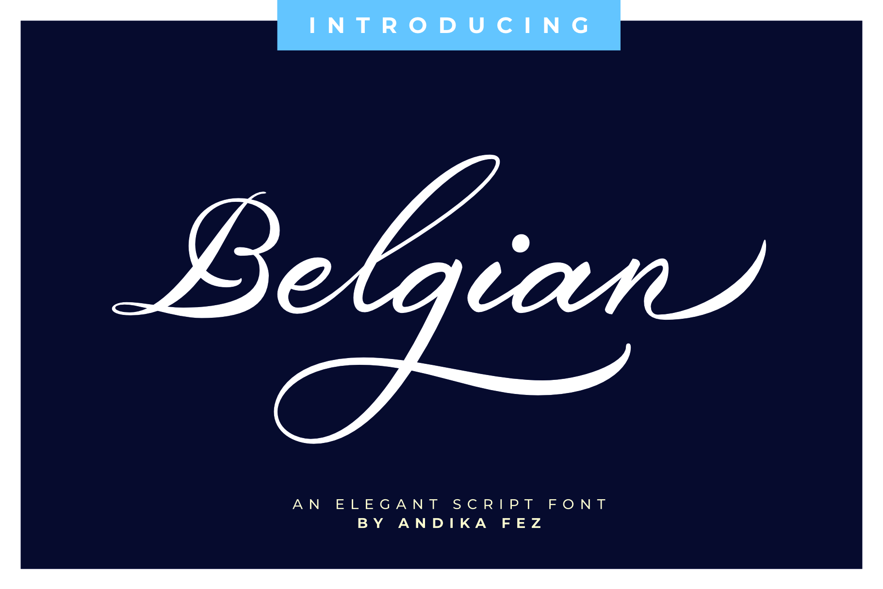 Belgian Signature example image 1