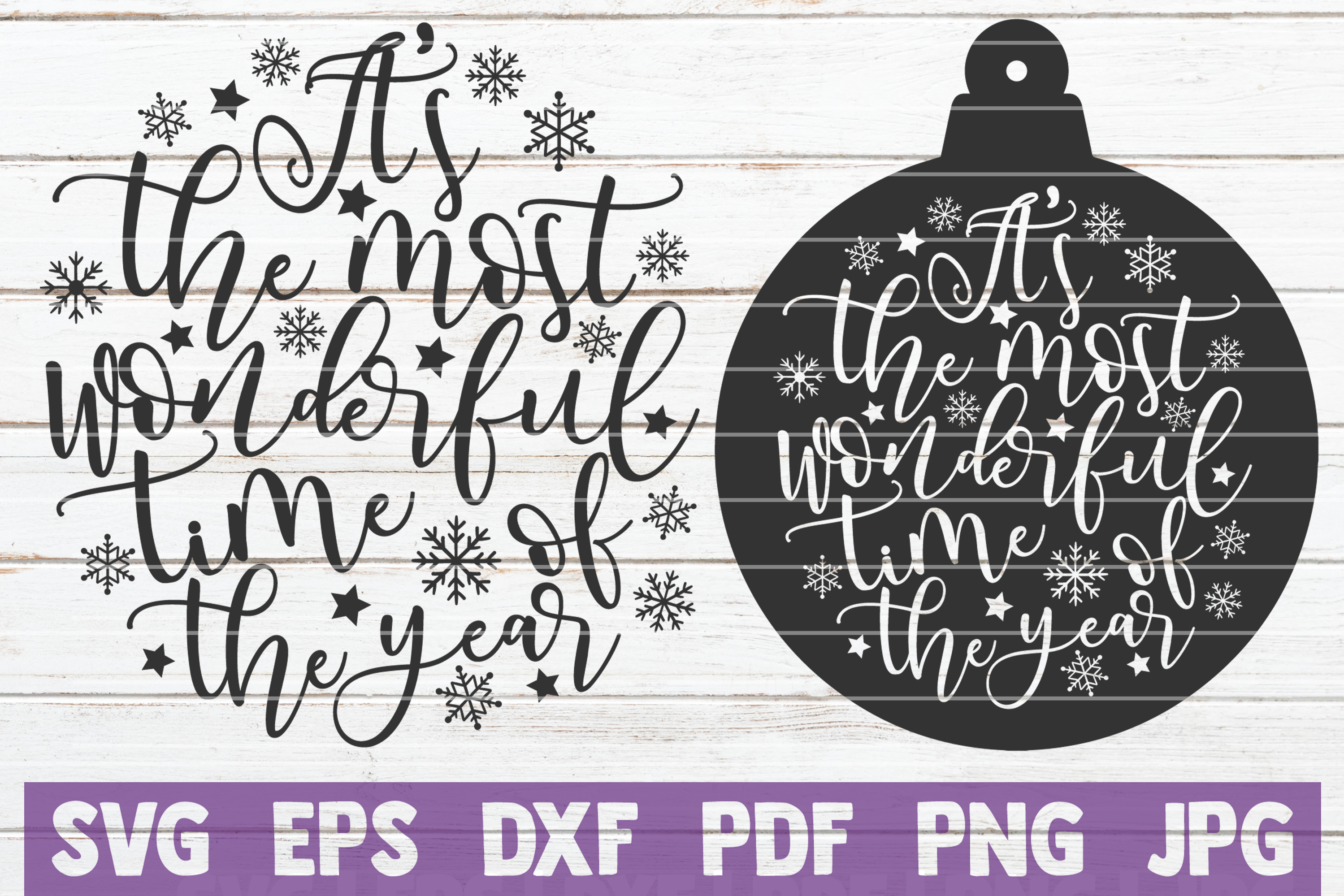 Christmas SVG Bundle | SVG Cut Files example image 15